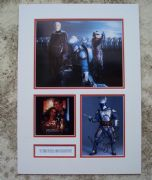 Temuera Morrison Signed & Mounted Photo Set - Star Wars: Episode II